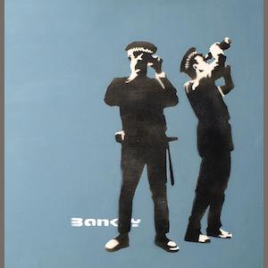 Descobrindo Banksy – Parte 2 Artes & contextos Avon and Somerset Constabulary 96000 2000