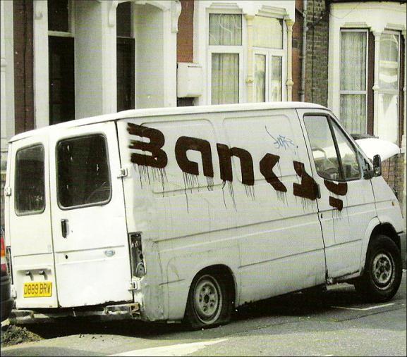 Descobrindo Banksy – Parte 1 Artes & contextos Banksy van