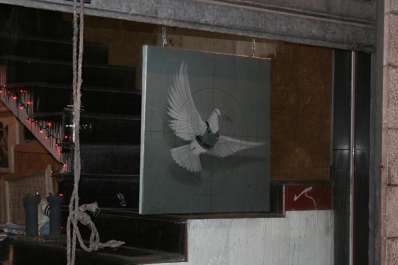 Descobrindo Banksy – Parte 2 Artes & contextos Bethlehem 2007
