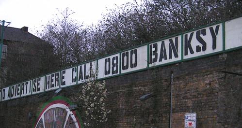 Descobrindo Banksy – Parte 1 Artes & contextos Brick Lane 2007