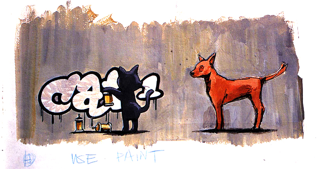 Descobrindo Banksy – Parte 3 (Esboços) Artes & contextos Bristol late 90 1