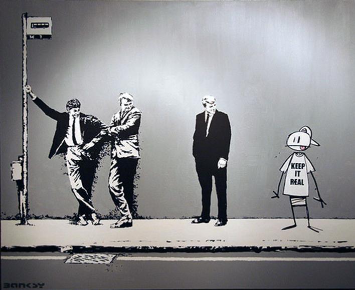 Descobrindo Banksy – Parte 2 Artes & contextos Canvas 2006