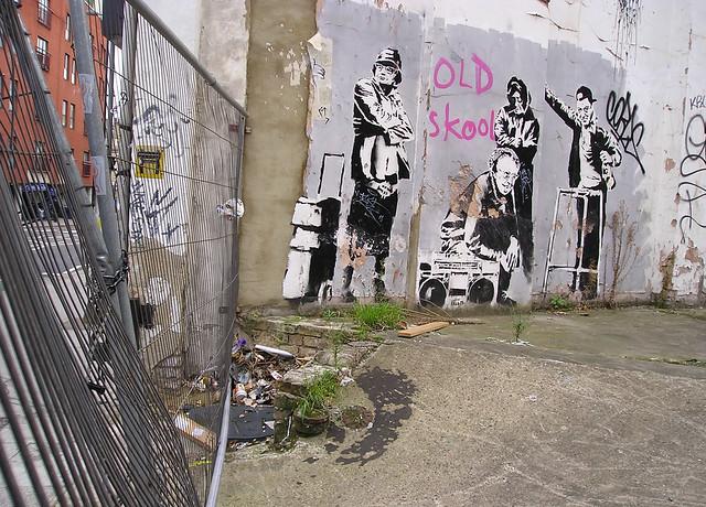 Descobrindo Banksy – Parte 4 Artes & contextos Clerkenwell Road 2007 copy