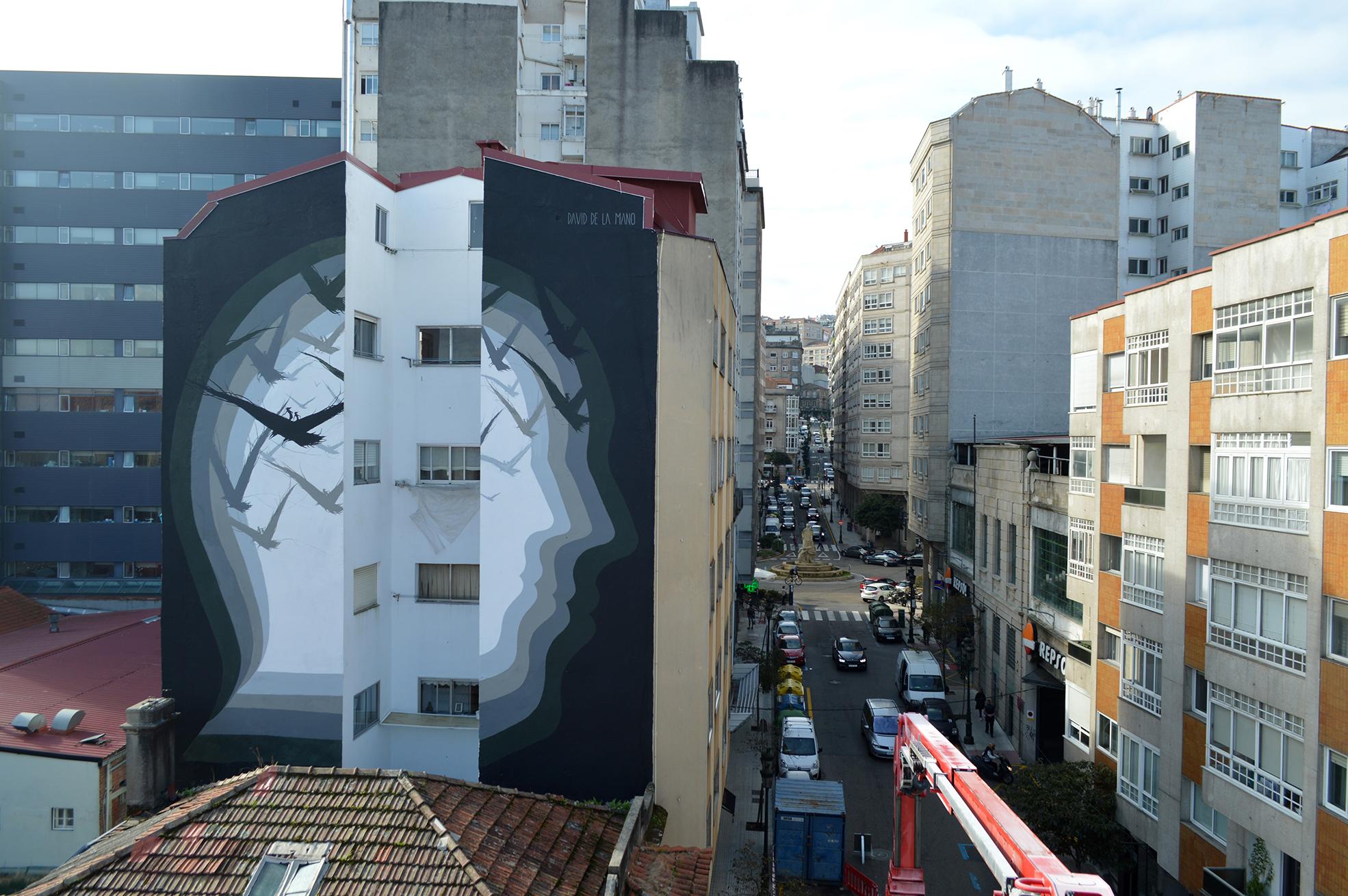 """""""O Espelho Mudo"""" de David de la Mano na Galiza, Espanha"""