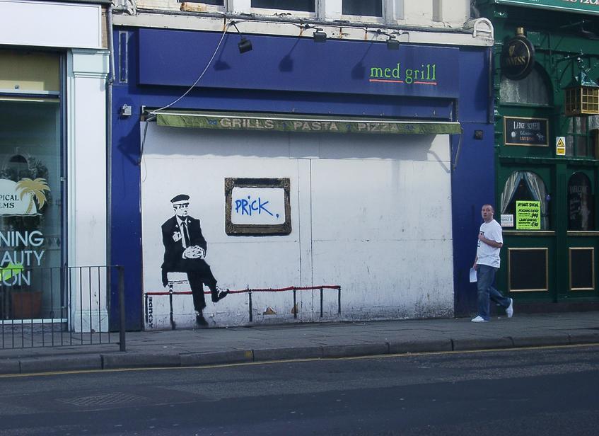 Descobrindo Banksy – Parte 4 Artes & contextos Liverpool