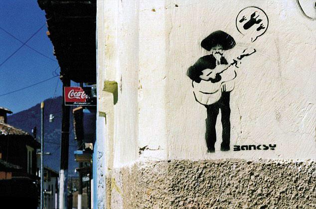 Descobrindo Banksy – Parte 4 Artes & contextos Mexico 2001 1