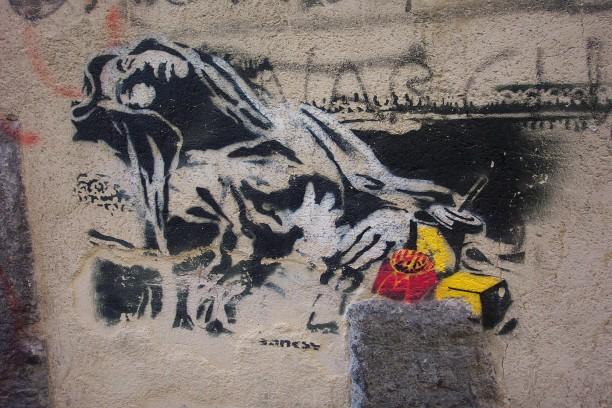 Descobrindo Banksy – Parte 4 Artes & contextos Naples 2005 2 copy