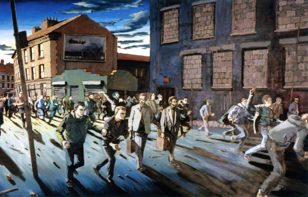 Descobrindo Banksy – Parte 2 Artes & contextos On Canvas Easton Bristol 1999