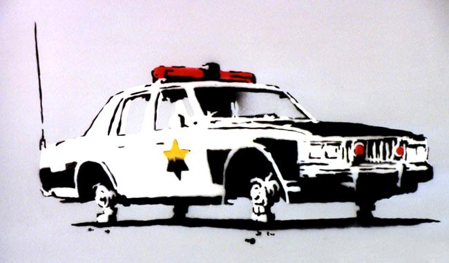 Descobrindo Banksy – Parte 2 Artes & contextos Police Car