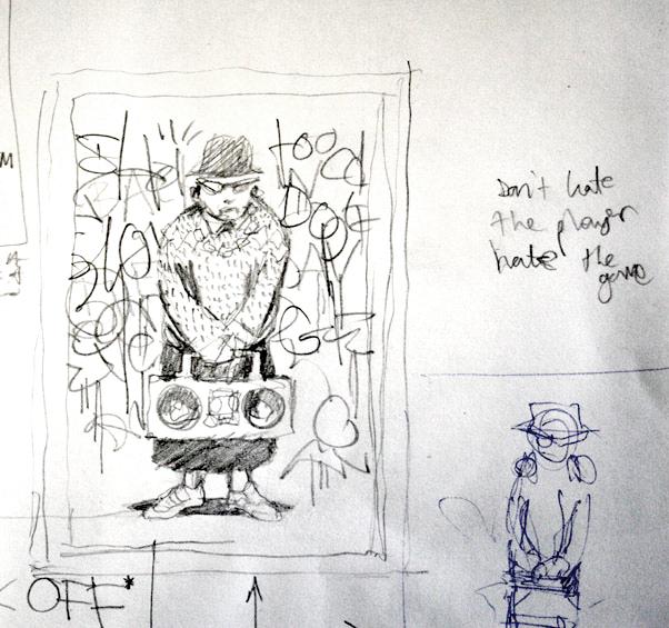 Descobrindo Banksy – Parte 3 (Esboços) Artes & contextos RDK6C0m