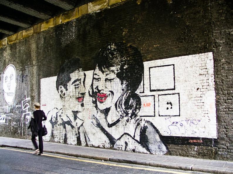 Descobrindo Banksy – Parte 4 Artes & contextos Rivington St London 2000