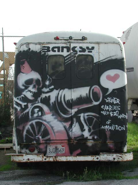 Descobrindo Banksy – Parte 4 Artes & contextos San Francisco 2001 copy