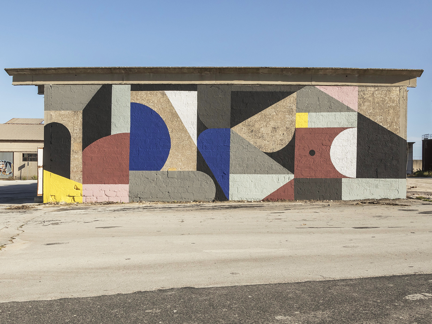 """""""Dismantle"""" by Greg Jager for Bitume in Ragusa, Sicily, Italy – StreetArtNews"""