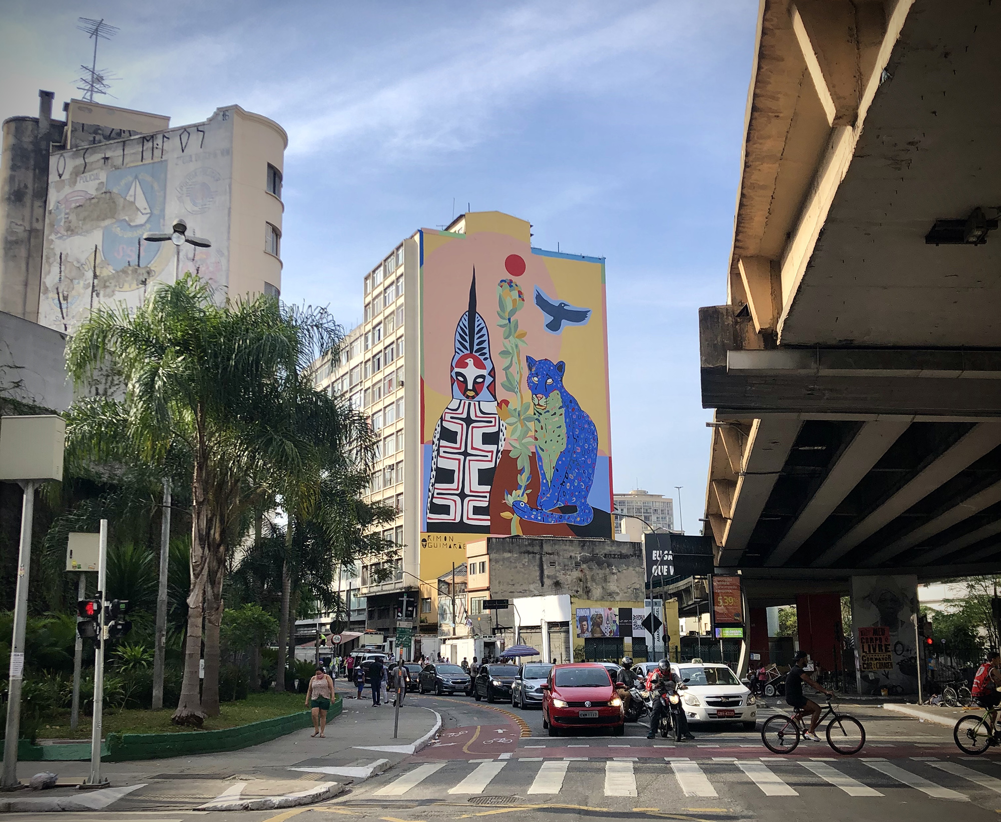 """Pindorama"" by Rimon Guimarães in São Paulo, Brazil"